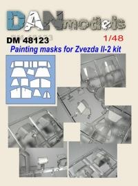 маска для модели самолета Ил-2 (Звезда)