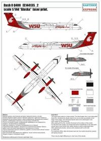 "Dash 8 Q400 ""Alaska"" (Limited Edition)"