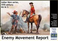 Indian Wars series, XVIII century. Kit No 3. Enemy Movement Report