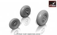 "Gloster ""Javelin"" wheels"