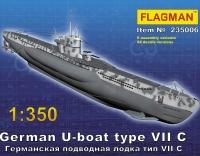 Германская подлодка типа VII C