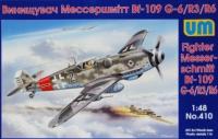 Fighter Messerschmitt Bf-109 G-6/R3/R6