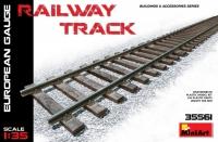 Железнодорожные рельсы (европейская колея)