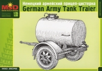 Немецкий прицеп-цистерна
