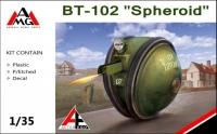 Советский танк (проект) БТ-102 Сфероид