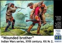 «Раненый брат». Серия «Индейские войны», XVIII век. Набор №2