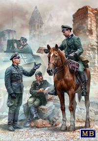 """""""Срочный пакет"""". Немецкие военнослужащие. WWII"""
