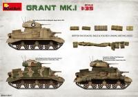 Британский танк Grant Мк.I с интерьером