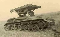 Самоходная ракетная установка БМ-8-24 на базе Т-60 с интерьером