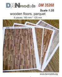 Деревянные полы: паркет