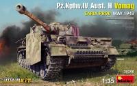 Немецкий танк Pz.Kpfw.IV Ausf. H Vomag (ранний) с интерьером. Май 1943 г.