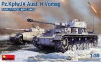 Немецкий танк Pz.Kpfw.IV Ausf. H Vomag (ранний). Июнь 1943 г.