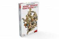 Советская пехота на танке