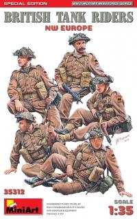 Британский танковый экипаж. Северо-западная Европа