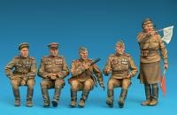 Советский экипаж джипа