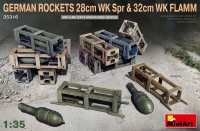 Немецкие снаряды 28 см WK Spr и 32 см WK FLAMM