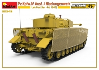 Немецкий танк Pz.Kpfw.IV Ausf. J Nibelungenwerk (поздний) с интерьером. Январь-февраль 1945 г.