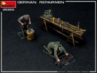 Немецкий ремонтный экипаж