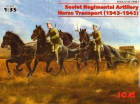 Советская полковая конная тяга WWII