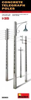 Бетонные телеграфные столбы