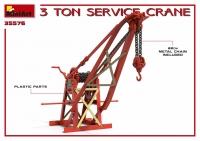 3-тонный сервисный кран