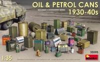 Канистры для масла и бензина 1930-40 гг.