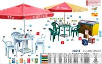 Современное уличное кафе