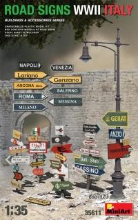 Дорожные знаки WWII (Италия)