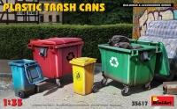 Пластиковые мусорные баки