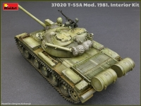 Советский танк Т-55А 1965 г. с интерьером