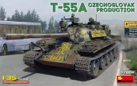 Танк T-55A чехословацкого производства