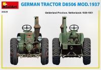 Немецкий трактор D8506Б, 1937 г.