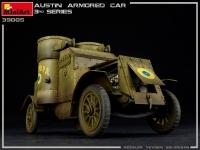 Бронеавтомобиль AUSTIN 3 серии с интерьером. Украина, Польша, Грузия, Румыния