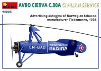 Автожир AVRO CIERVA C.30A гражданский вариант