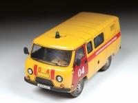 УАЗ-3909. Аварийно-газовая служба