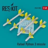 Rafael Python 3 missile (4 шт.) (IAI Kfir, F-15C/I, F-16I, JF-17, MiG-211, Mirage F.1)