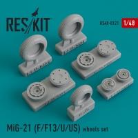 МиГ-21Ф/Ф13/У/УМ/УС смоляные колеса