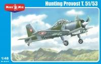 Самолет Hunting Provost T.51/53 вооруженная версия