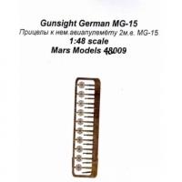ФТД  Прицелы к авиапулемету MG-15