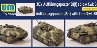 Разведывательный танк Aufklarungspanzer 38(t)960 with 2cm Kwk38