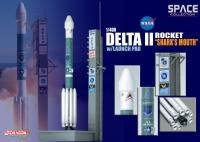 """Космический аппарат Delta II Rocket """"Shark's Mouth"""" w/Launch Pad"""