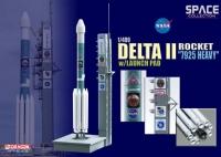 """Космический аппарат Delta II Rocket """"7925 Heavy"""" w/Launch Pad"""