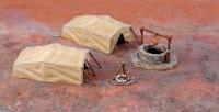 Диорама Desert Well and Tents