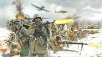 Солдаты WWII German Infantry (Winter Uniform)