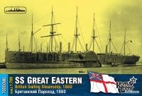 "Британский пароход SS ""Great Eastern"", 1860 г. По ватерлинию."