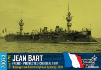 "Французский бронепалубный крейсер ""Jean Bart"", 1891 г."