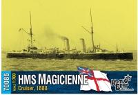 """Крейсер второго класса HMS """"Magicienne"""" 1889 г."""