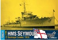 """Британский лидер эскадренных миноносцев HMS """"Seymour"""", 1916"""