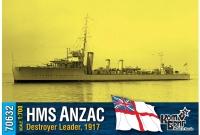 """Британский лидер эскадренных миноносцев HMS """"Anzac"""", 1917"""