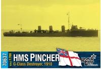 "Английский миноносец HMS ""Pincher"" (G-Class), 1910"